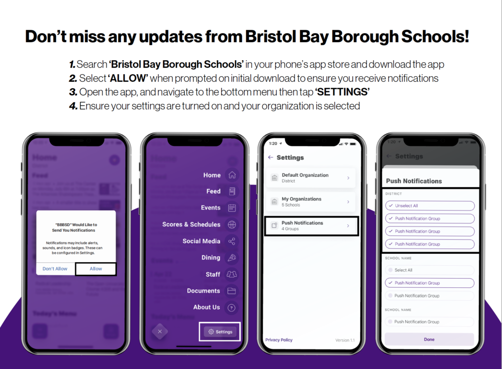 Don't Miss Any Updates From BBBSD!
