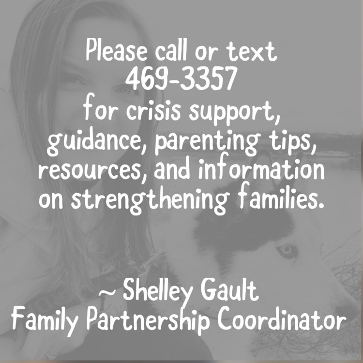 Please contact our Family Partnership Coordinator for family support.
